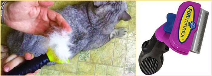 Кошачий фурминатор
