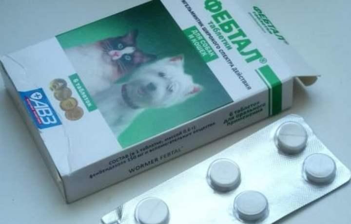 Таблетки препарата фебтал