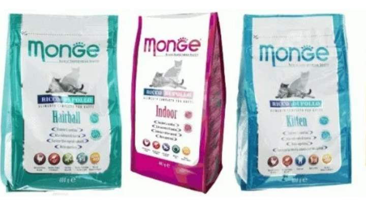 Итальянские корма Monge