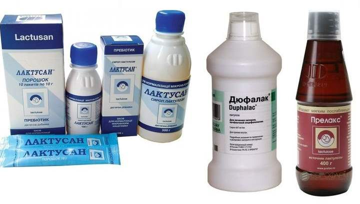 Препараты против запора