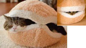 Подушка в виде гамбургера