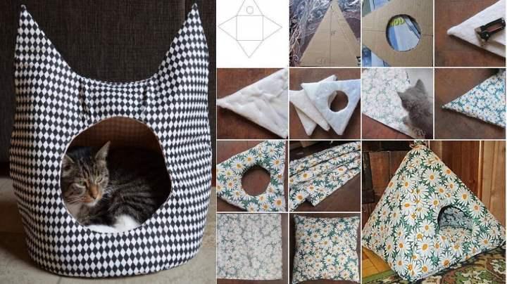 Тетраэдр для кошки