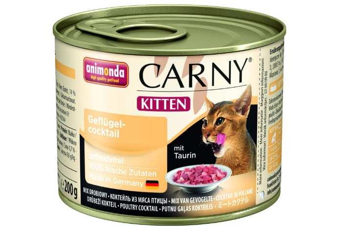Мягкий сухой корм для котят премиум класса
